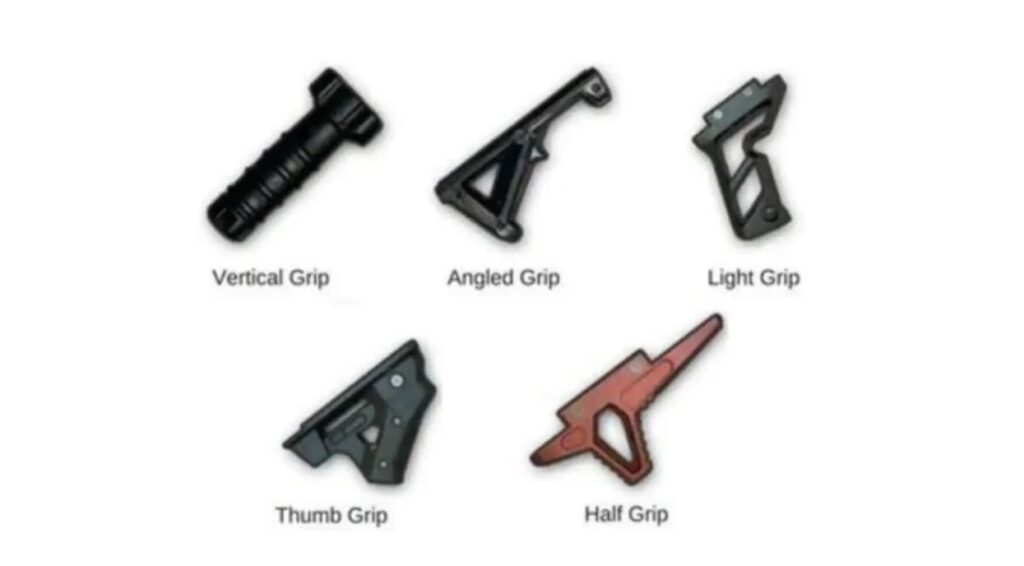 Foregrip in BGMI