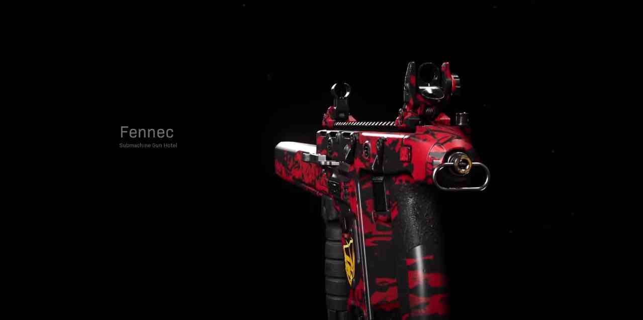 Fennec Loadout and Attachments  call of duty
