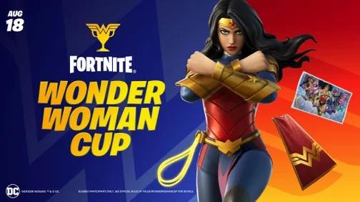 wonder woman cup fortnite