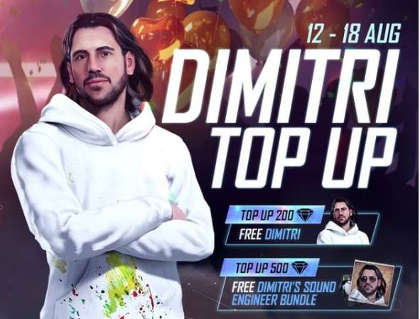 Free Fire Top-up Event