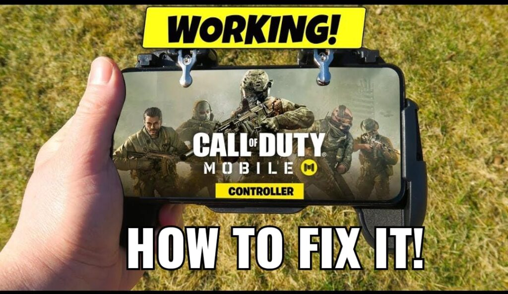 COD Mobile Controller Not Working