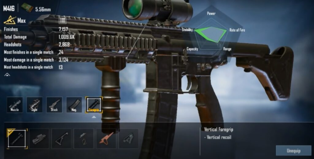 Foregrip in BGMI: Best Foregrip and All Details Here