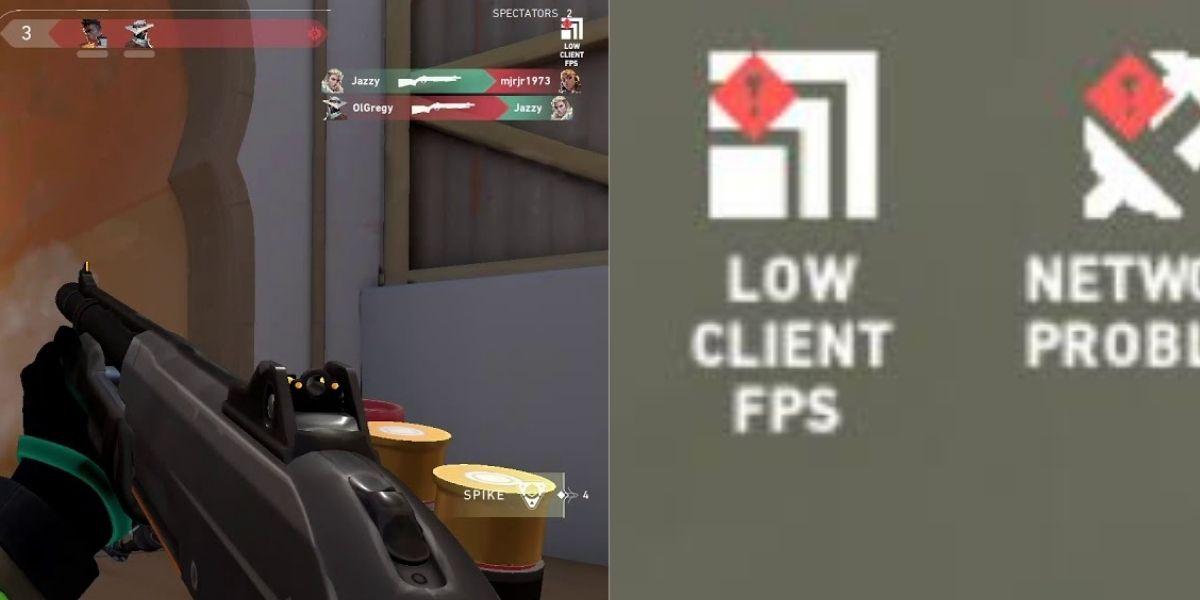 Low Client FPS Valorant error