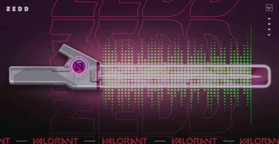 Valorant Zedd Skins Leaks