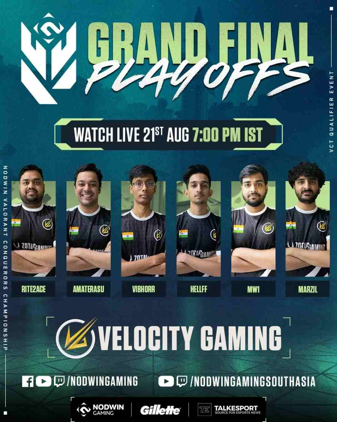 VCC Finals Velocity Gaming