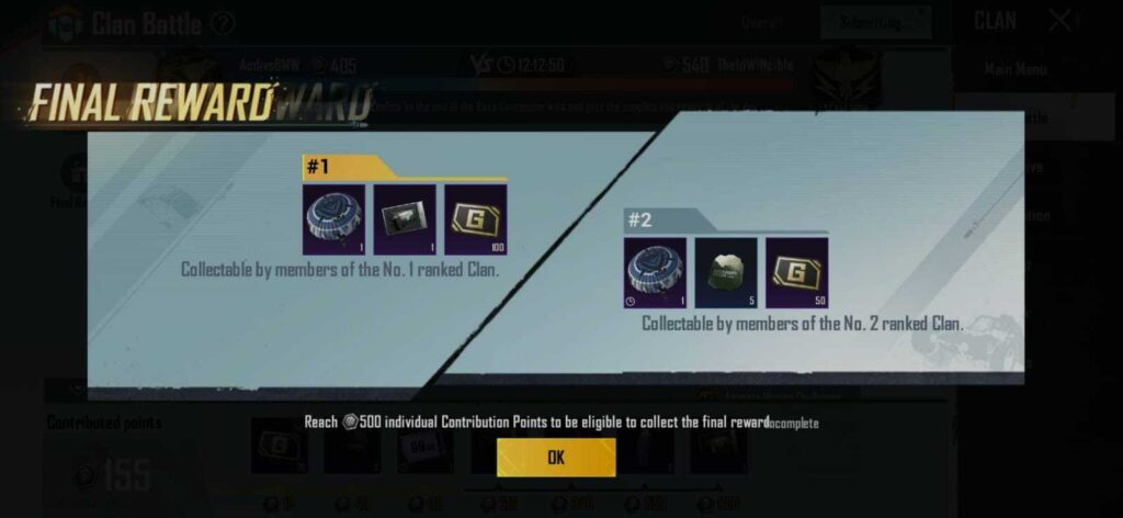 BGMI Clan Battle: Win Free Rewards and More