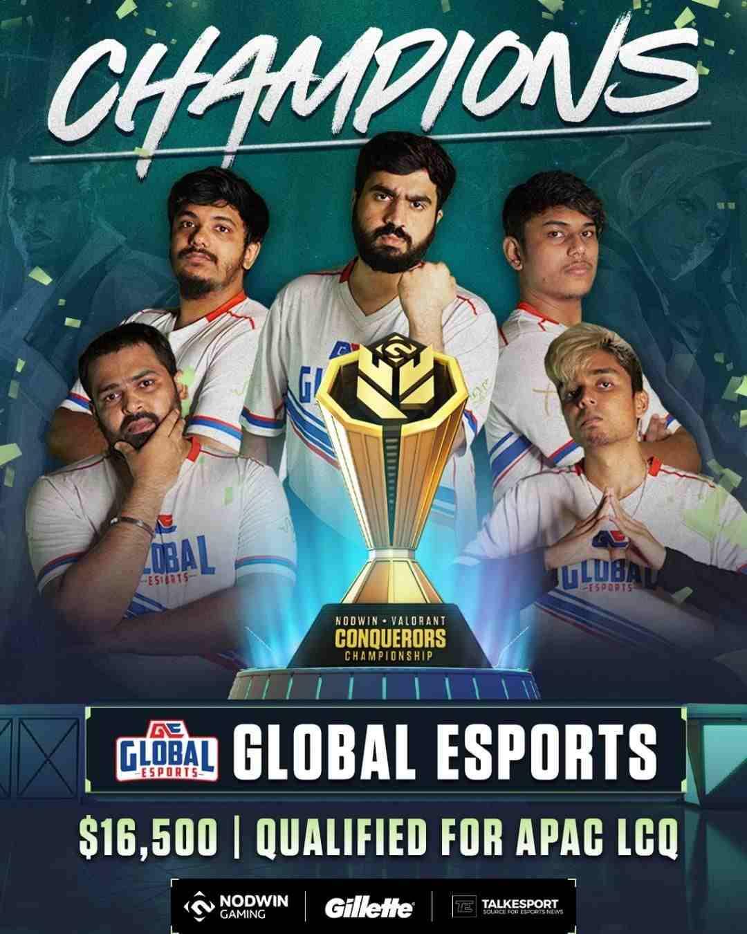 Global Esports To Thailand