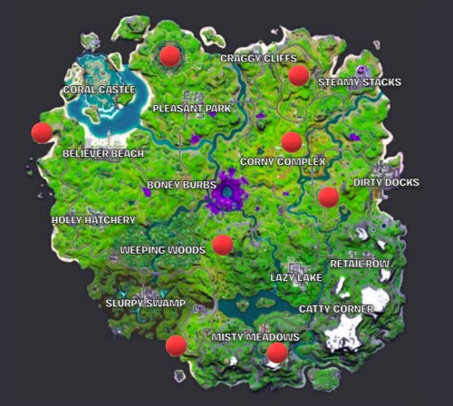 Where to Collect an Alien Sample in Fortnite?