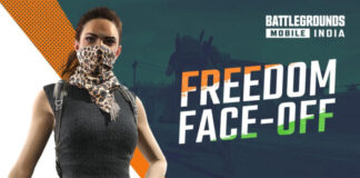 BGMI Freedom Face Off