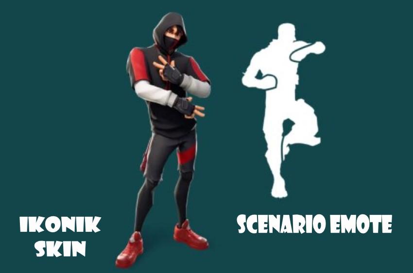 ikonim skin and scenario emote