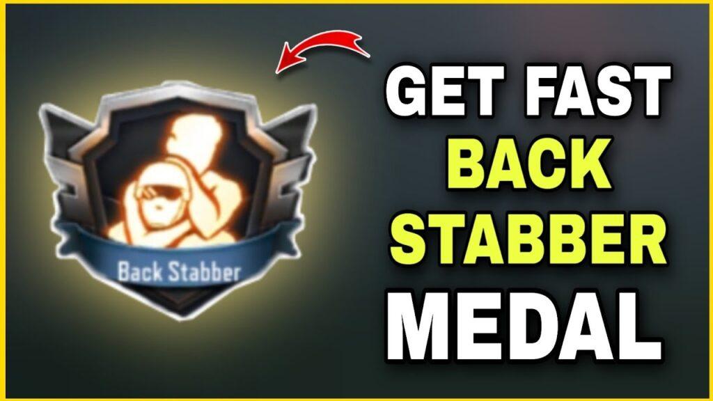 Backstabber Medal in COD Mobile