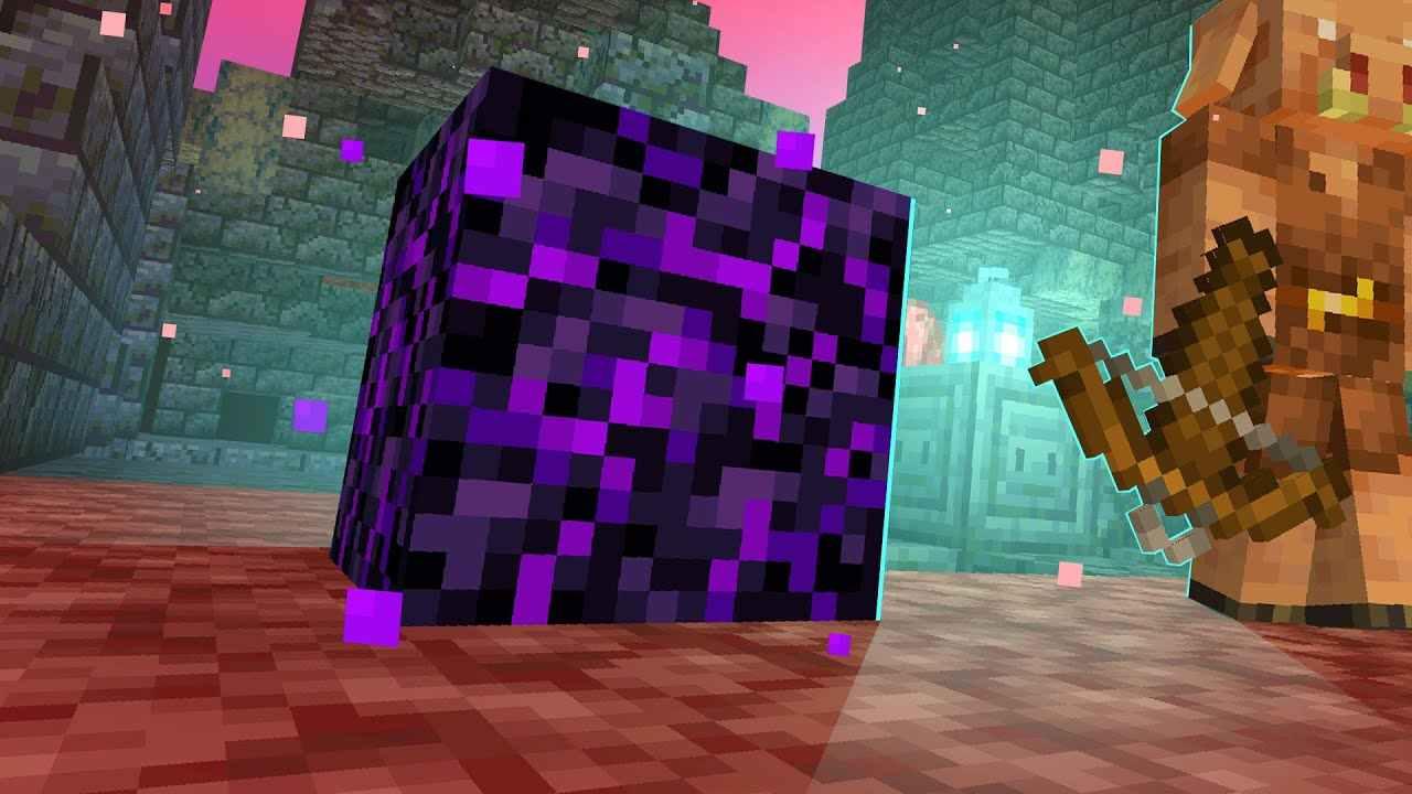 obsidian in minecraft