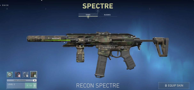 valorant recon gun skins spectre