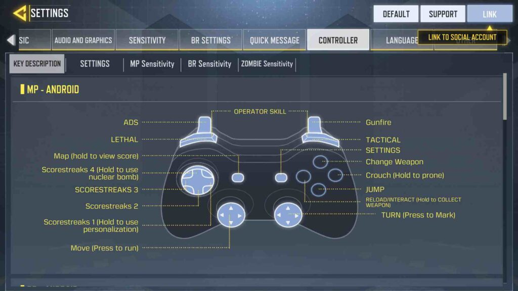 Call Of Duty Mobile Button Layout