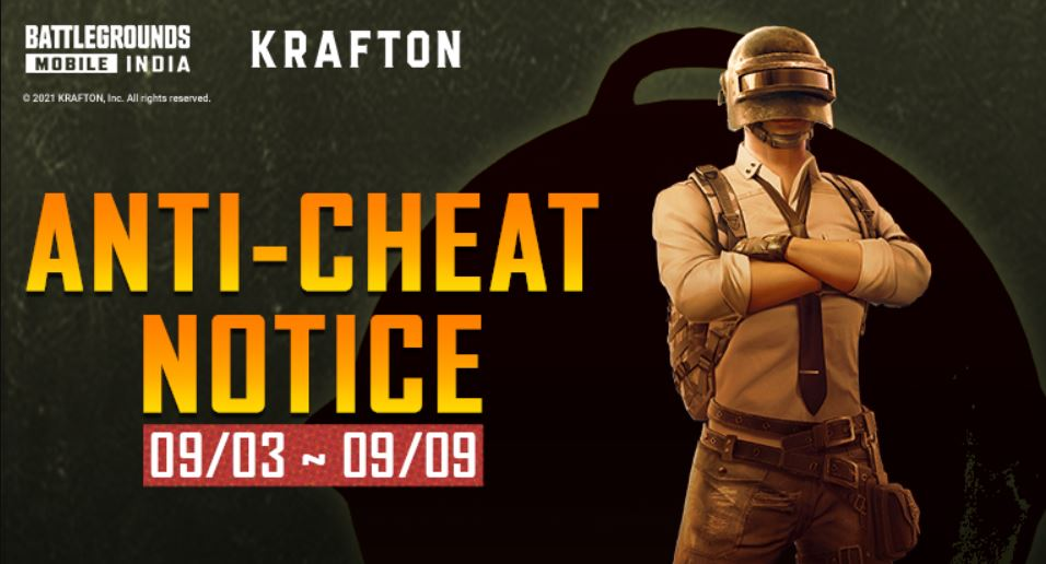 BGMI Anti Cheat Status Today: Cheaters are Getting Banned