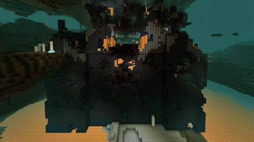 bastion remnant in minecraft