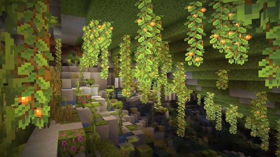 Caves and Cliffs in Minecraft
