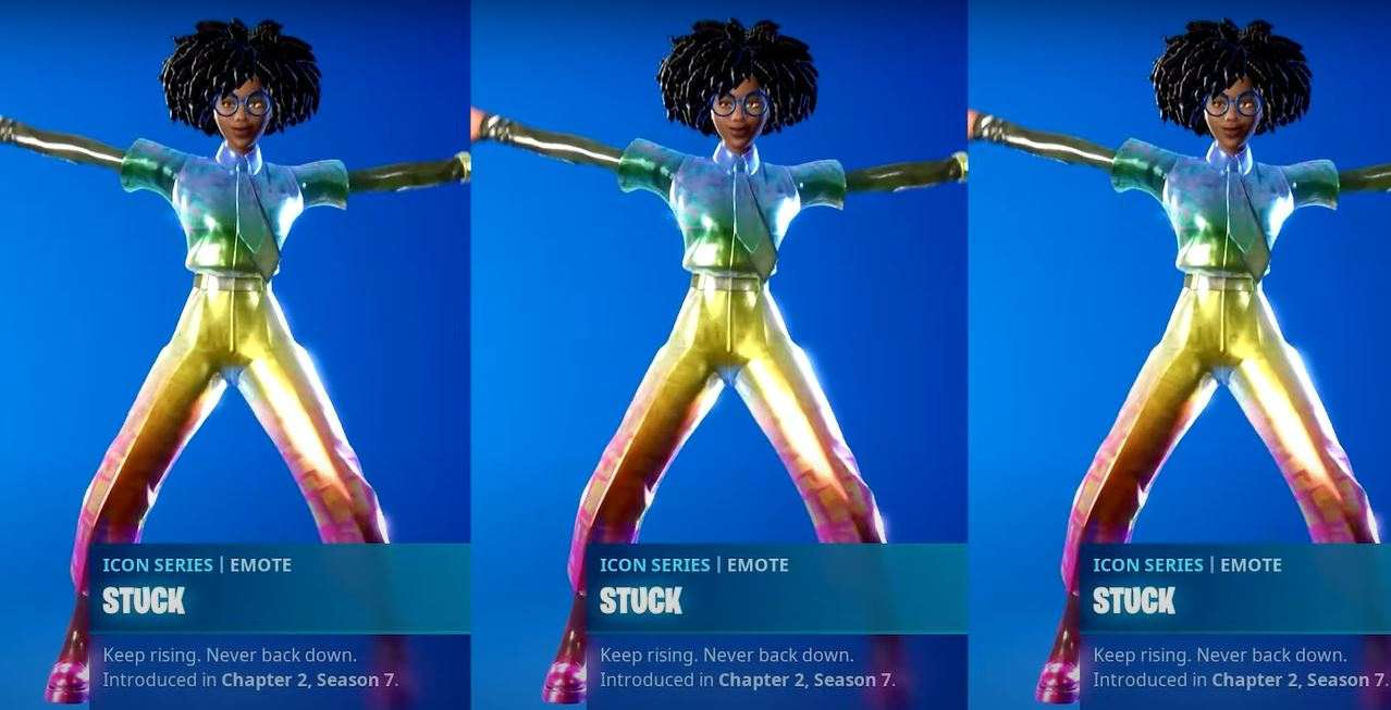 how to get the stuck emote in fortnite