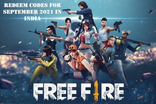 Free Fire Redeem Codes in India for Today (25 September 2021)