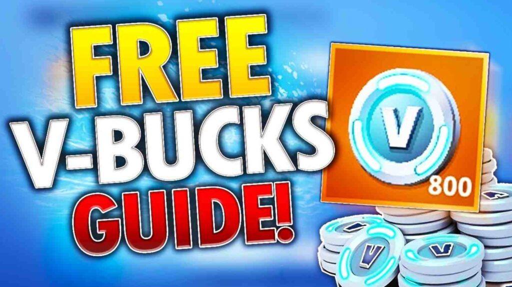 Free V-bucks Fortnite