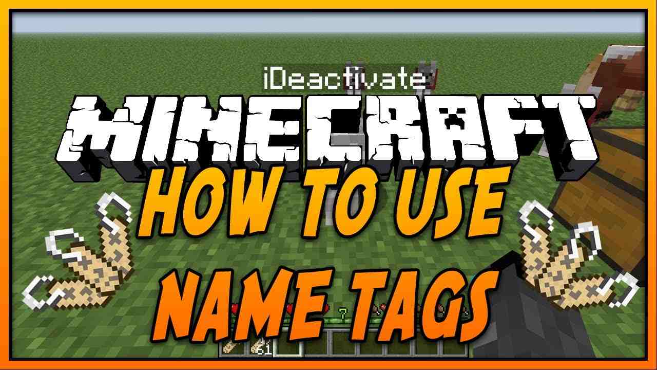 how to use nametags in minecraft