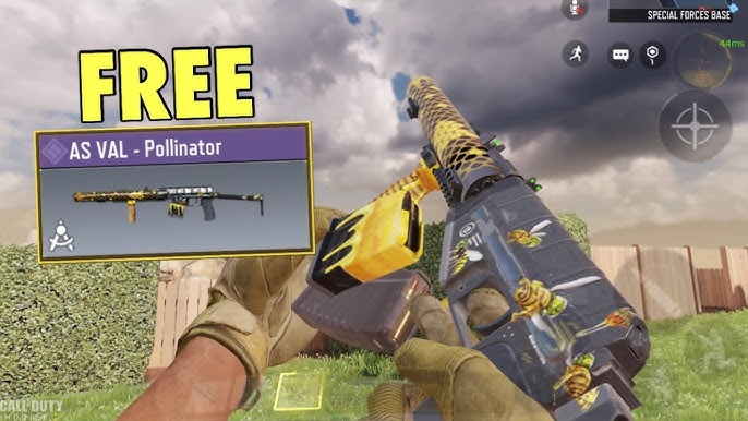 How to Unlock AS VAL Pollinator in COD Mobile