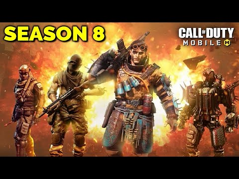 COD Mobile season 8 release date and leaks