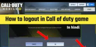 How to Log Out of Call of Duty Mobile