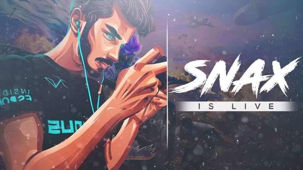 Snax BGMI Player
