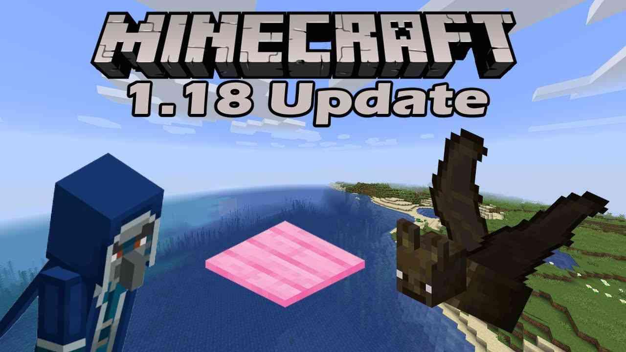 Minecraft 1.18 Updates
