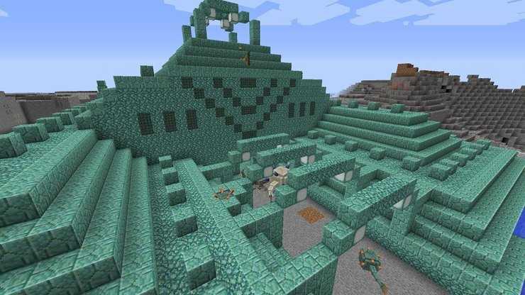 Treasure structures in minecraft