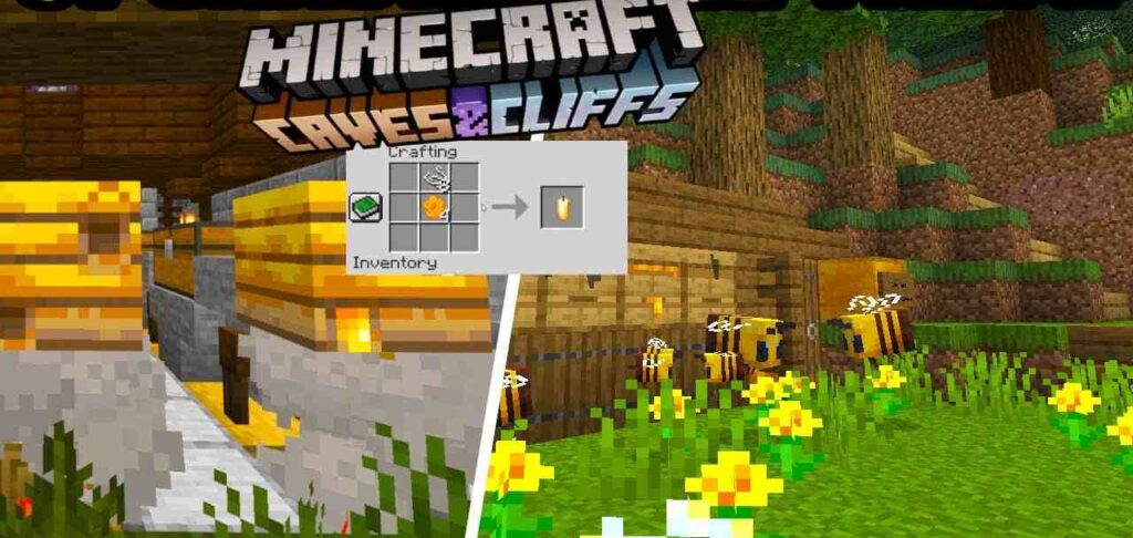 Beehives in Minecraft