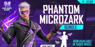 Phantom Microzark Bundle in Faded Wheel in Free Fire