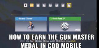 Gun Master Medal in COD Mobile