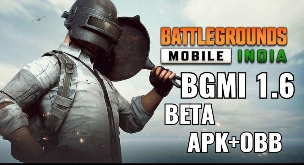 BGMI 1.6 Beta Version Download: APK+OBB Links