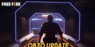 Download Free Fire OB30 Update Advance Sever: