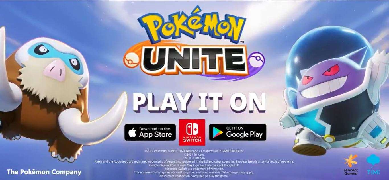 pokemon unite mobile on ios and android