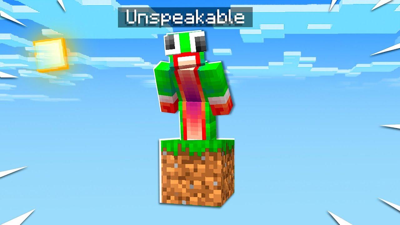 unspeakablegaming in Minecraft