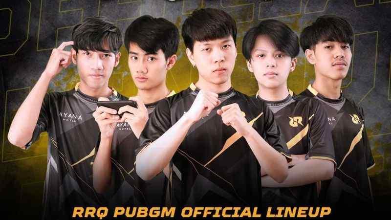RRQ Disband Thailand PUBG