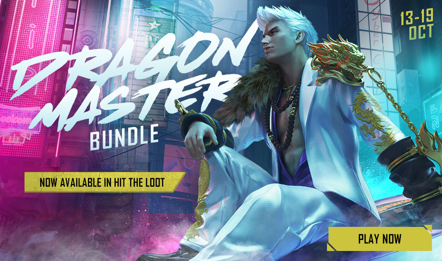 Featured Image: Dragon Master Bundle in Free Fire