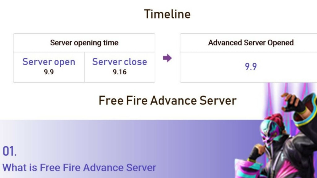 Free Fire OB31 registration form