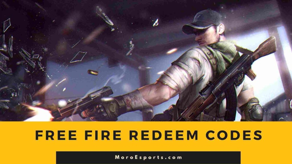 Latest Free Fire Redeem Codes Today 11 October 2021