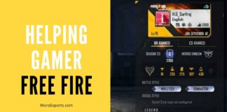 Featured Image: Helping Gamer Free Fire