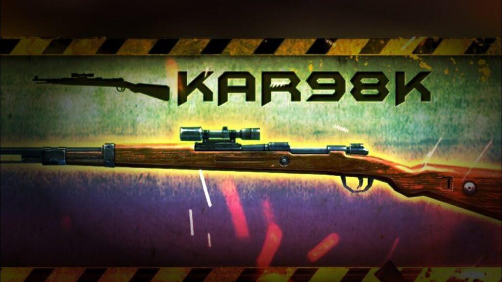 Best Guns in Free Fire: Kar98