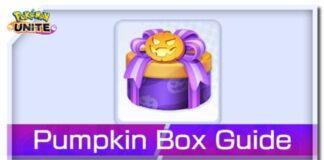 Pokemon Unite Pumpkin Box Guide
