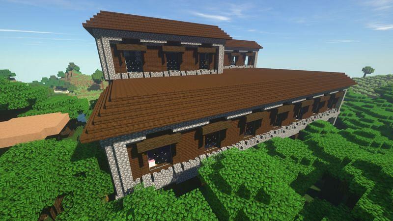 Woodland Mansion in Minecraft