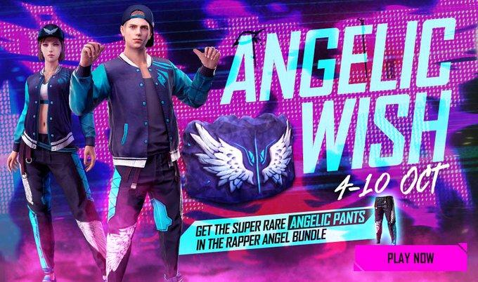 Rapper Angel Bundle Free Fire