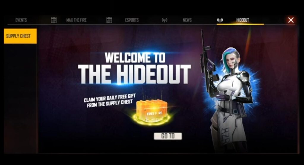 Hideout Event Free Fire