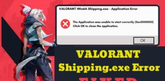 How To Fix Valorant 0xc0000005