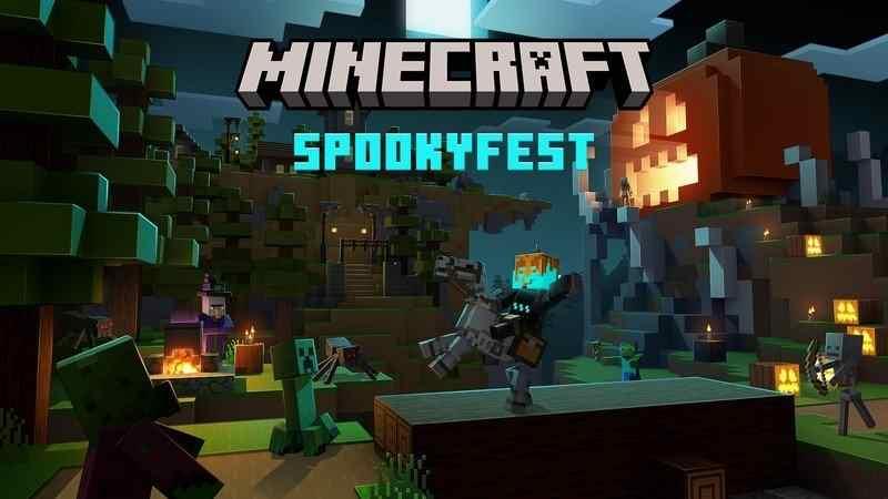 Minecraft Halloween Spooky Fest